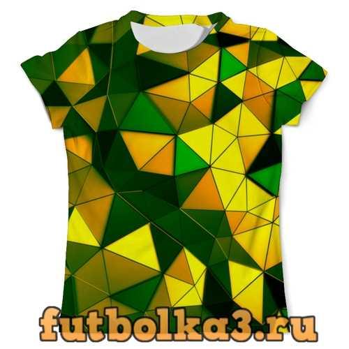 Футболка Желто-зеленые стекла мужская