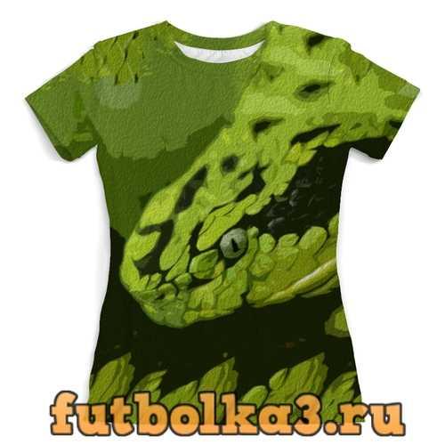 Футболка Змея женская