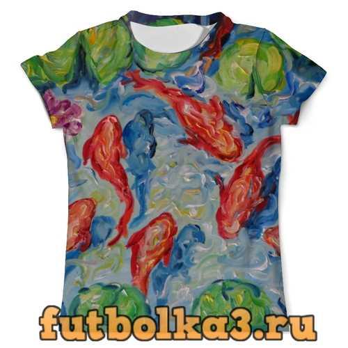 Футболка Золотые рыбки мужская