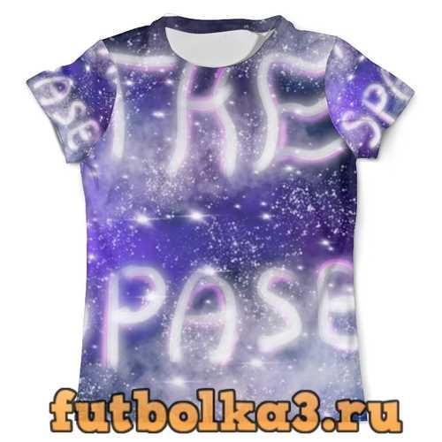 Футболка Звездное небо мужская