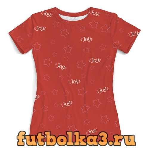 Футболка звезды женская