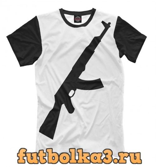 Футболка $AK-47$ мужская
