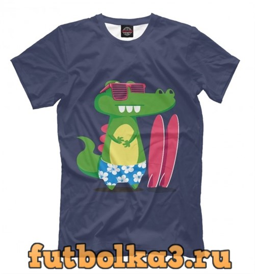 Футболка Alligator surfer мужская