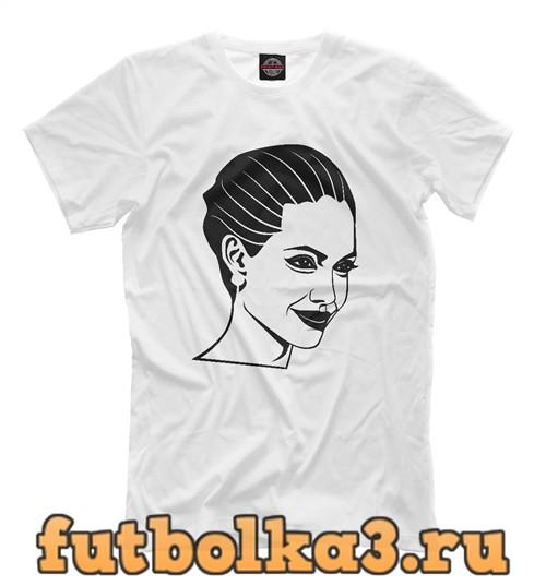 Футболка Angelina jolie мужская