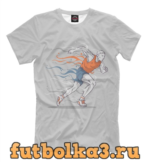 Футболка Бегун мужская