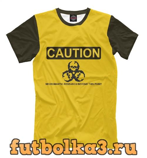 Футболка Caution мужская
