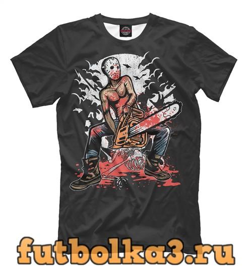 Футболка Chainsaw killer мужская