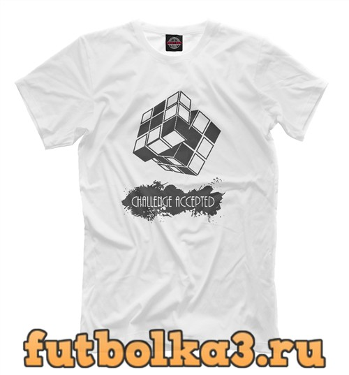 Футболка Challenge accepted мужская