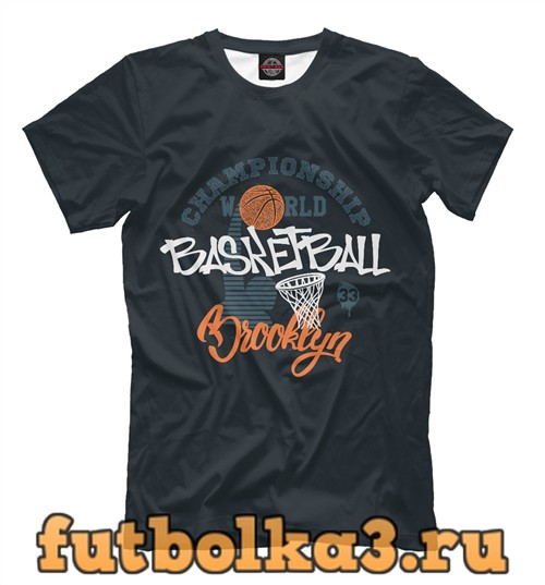 Футболка Championship basketball мужская