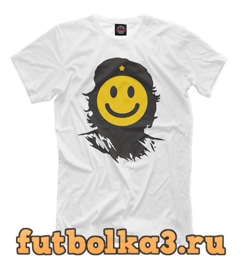 Футболка Che smile мужская