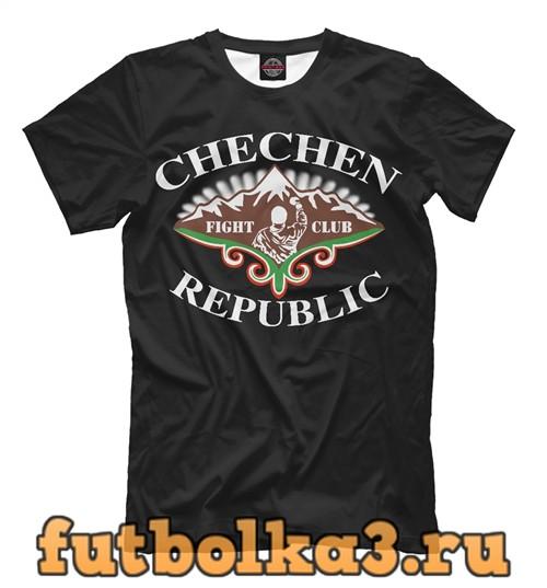 Футболка Chechen republic мужская