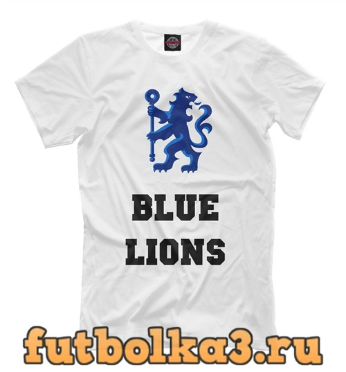 Футболка Chelsea blue lions мужская