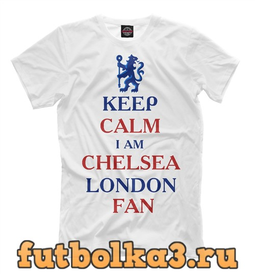 Футболка Chelsea fan мужская