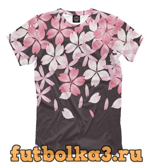 Футболка Cherry blossom мужская