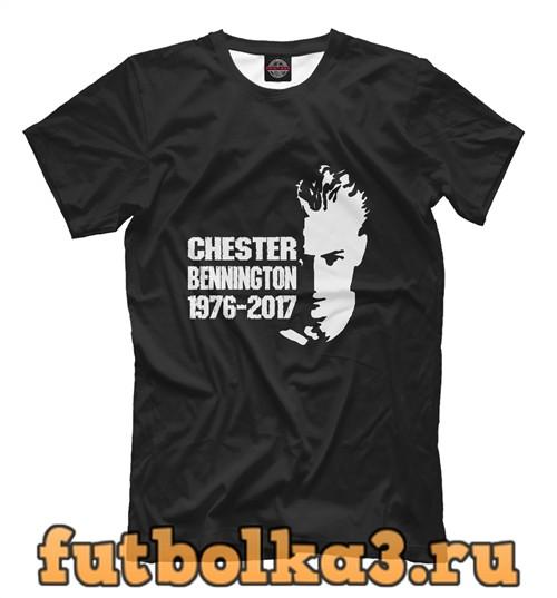 Футболка Chester bennington мужская