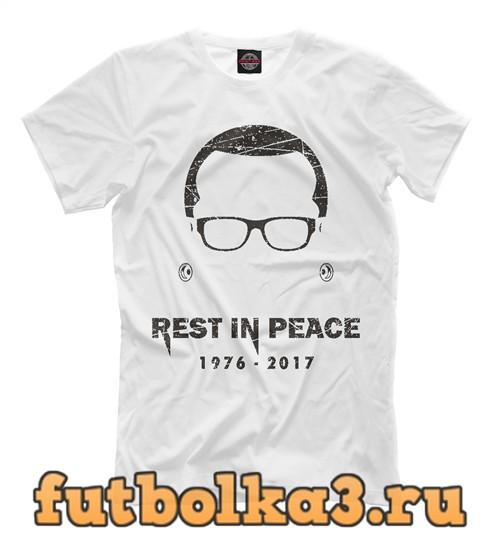 Футболка Chester - rest in peace мужская