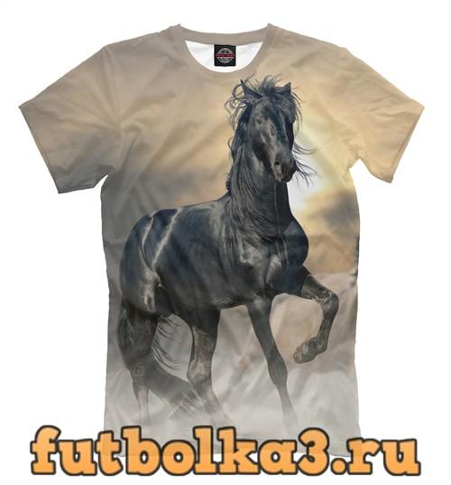 Футболка Чётный конь мужская
