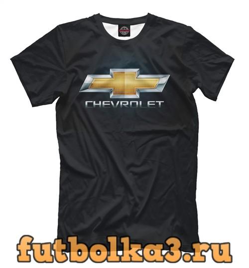 Футболка Chevrolet black мужская