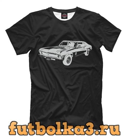 Футболка Chevrolet chevelle мужская