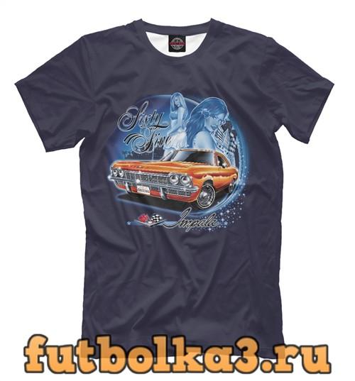 Футболка Chevrolet impala '65 мужская