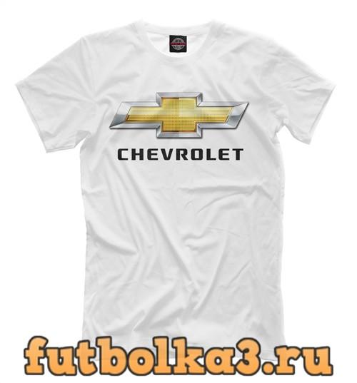 Футболка Chevrolet white мужская
