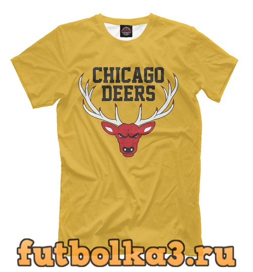 Футболка Chicago deers мужская
