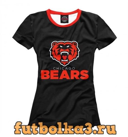 Футболка Chikago-BEARS женская