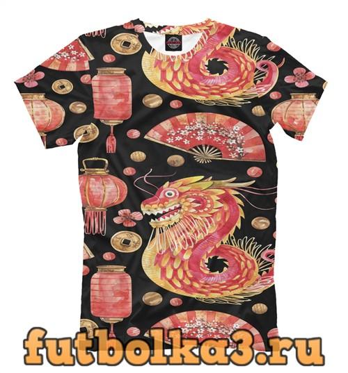 Футболка China symbols мужская