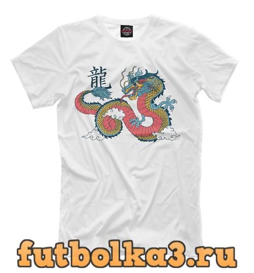 Футболка Chinese dragon мужская