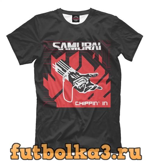 Футболка Chippin in by samurai мужская