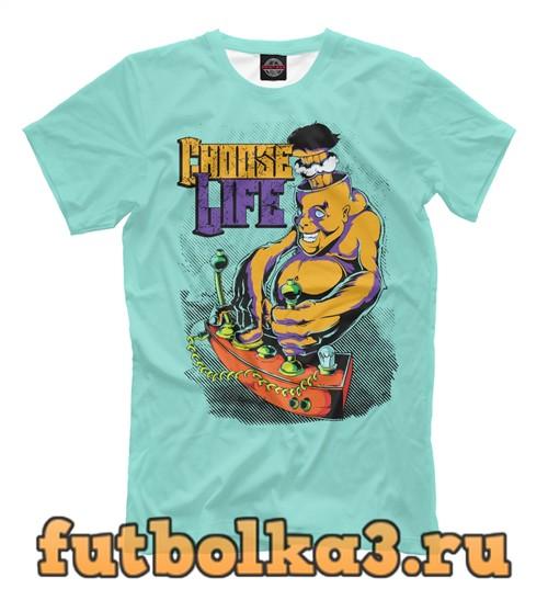 Футболка Choose life мужская