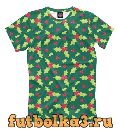 Футболка Christmas pattern мужская