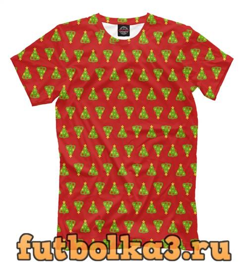 Футболка Christmas tree мужская