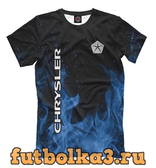 Футболка Chrysler blue fire мужская