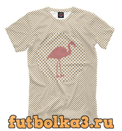 Футболка Circle flamingo мужская