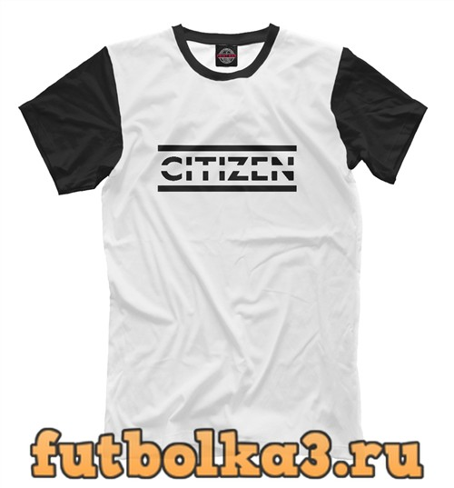 Футболка Citizen erased - muse мужская