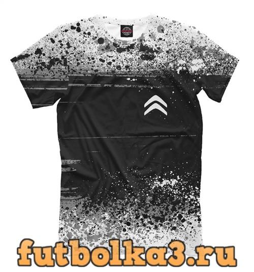 Футболка Citroen sport мужская