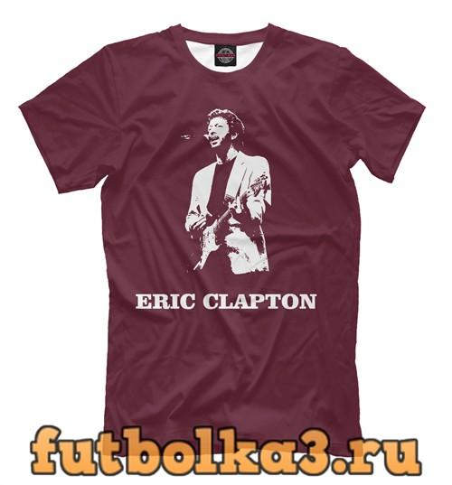 Футболка Clapton eric мужская