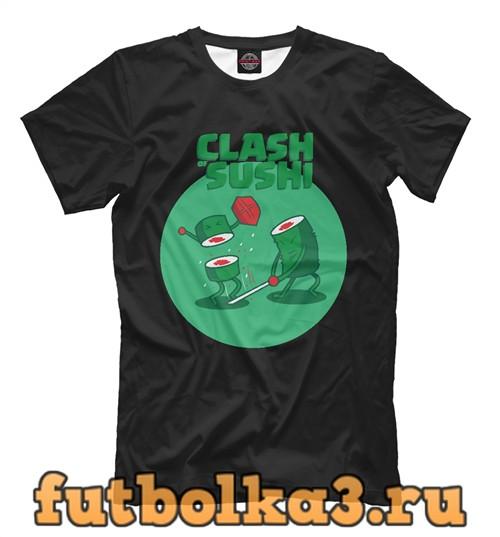 Футболка Clash sushi мужская