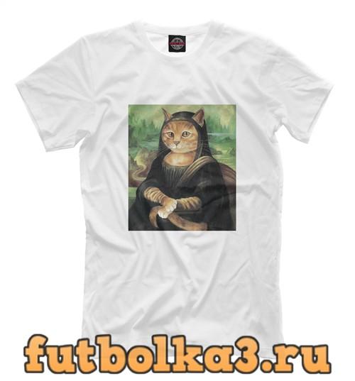 Футболка Classic cat art мужская