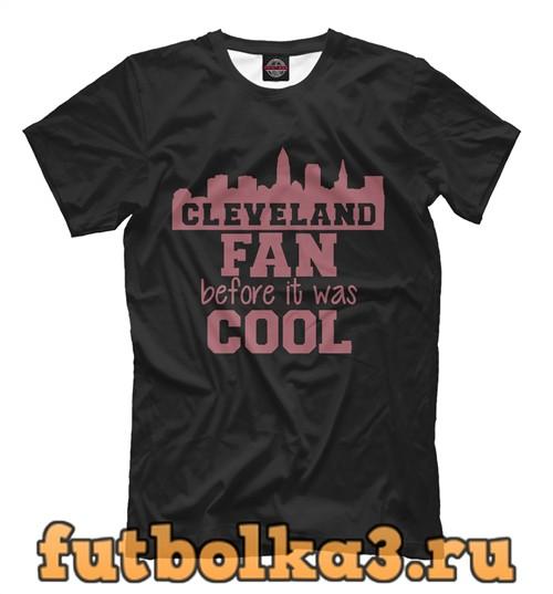 Футболка Cleveland fan мужская