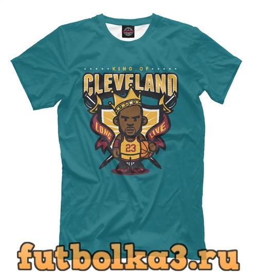 Футболка Cleveland - lebron james мужская