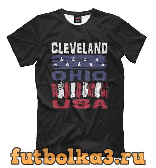 Футболка Cleveland usa мужская