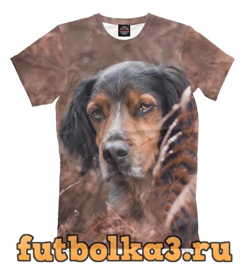 Футболка Clever dog мужская