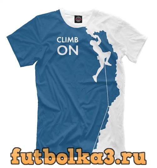 Футболка Climb on мужская