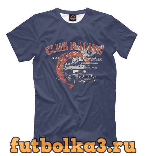 Футболка Club raicing мужская