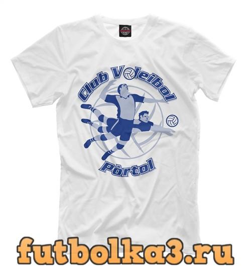 Футболка Club volleyball portal мужская