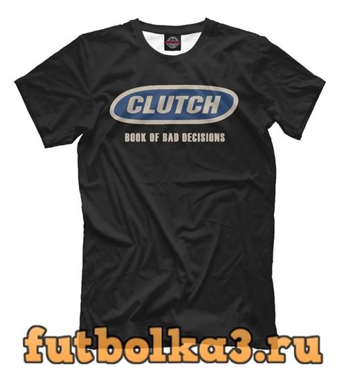 Футболка Clutch book of bad decisions мужская