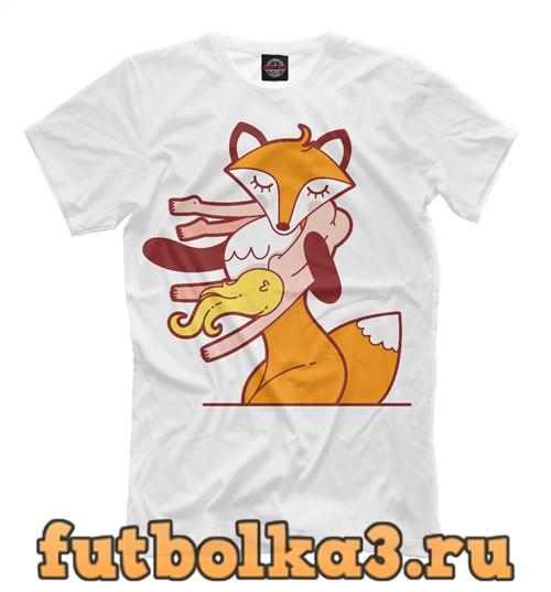 Футболка Coat for fox мужская