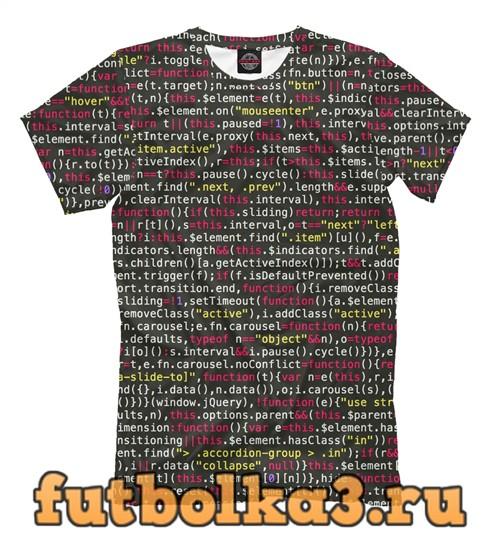 Футболка Coding element мужская